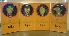 "Rare! The Beatles Kubrick 400% ""Yellow Submarine"" Action Figures 4-Pack NOS/NIP!"