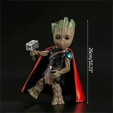 Strongwell Baby Groot Model Cos Raytheon Tree Man Figurine Toy Marvel Guardians