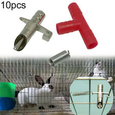 10Pcs Small Pet Rabbit Hamster Automatic Nipple Water Feeder Drink Fountain Well