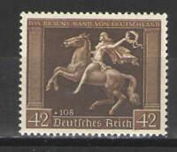 Germany - Third Reich 1938 Sc# B119 MNH F/VF - Scarce MNH example Brown Ribbon