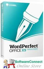 Corel WordPerfect Office X9 Home & Student GENUINE GUARANTEE