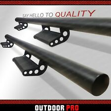 05-19 For Toyota Tacoma Double Cab Side Drop down Steps Nerf Bars Running Boards