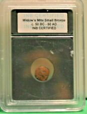 Widow's Mite 50bc-50ad Certified