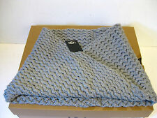 Ugg Sequoia Twist Gray Cable knit Women Snood One Size