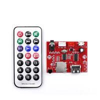 Bluetooth 5.0 MP3 Decoder Board Audio Module USB AUX TF Input+Remote Control