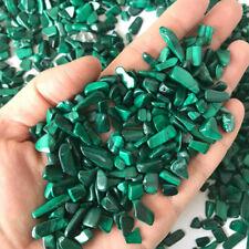 50g Natural Malachite Crystal Stones Reiki Healing Chip Tumbled Mineral Lot Bulk