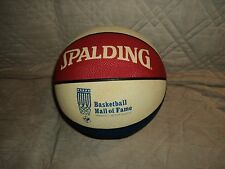 Vintage Spalding Hall Of Fame Souvenir Basketball (Springfield,Mass.)