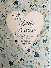 On The Birth Of Your Little Brother - Greeting Card