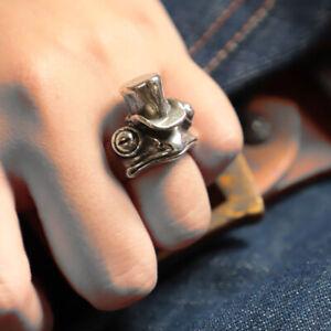 Frog Animal Rings For Women Frog Toad Metal Wrap Ring Wedding Ring GiftN C❤