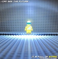 See what a FUTURON sees! Lego Futuron sp016 aus Sets 6953 6990 6932 6875 etc.