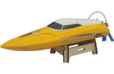 Modellini di barche d'acqua radiocomandati giallo