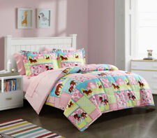 Twin Size Kids Meadows Comforter Sheets Sham Pillowcase Bed In A Bag Bedding Set