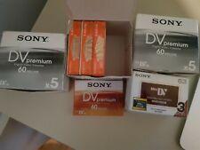 Sony Mini DV Premium Digital Video Cassette 60 min / LP:90 - sealed