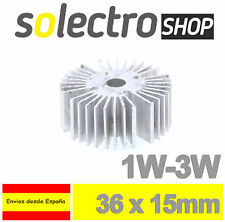 Disipador de calor para LED 1W 3W Power Led Aluminium Heatsink P0042