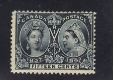 Canada Stamp Mint Unused #58  Hinged and Thinned- $275 cv