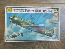 Vintage Otaki Model Kit #OT2-15 Japanese Army Fighter KI-100 Goshiki 1/48 Scale