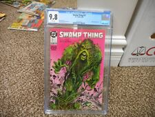 Swamp Thing 73 cgc 9.8 DC 1988 John Constantine appearance Hellblazer MINT WHITE