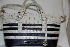 NWT Brahmin MIni Asher Stonewash Vineyard Genuine Leather Tote