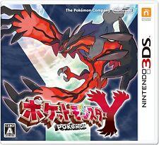NEW Pokemon Y Pocket monster free ship Japan Import nintendo 3DS F/S