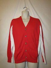 mens sean john cardigan sweater XL nwt $68 fiery red