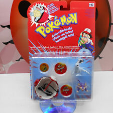 POKEMON GRABBER BALL 87 DEWGONG 19 RATTATA Figures 2000 Nintendo Hasbro Rare VTG