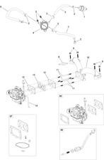 TORO Twin Cylinder Engine inline FUEL FILTER 133-1563 - 888
