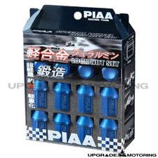 Piaa Super Lightweight Aluminum Locking Lug Nuts Set - Blue 12x1.25mm 20pcs+Key