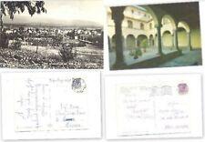 N°2  CARTOLINE VIAGGIATE  PROVINCIA AREZZO ANNI 60/70( VEDERE DESCRIZIONE)