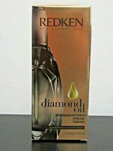 New Redken Diamond Oil ShatterProof Shine Intense 100ml 3.4 oz