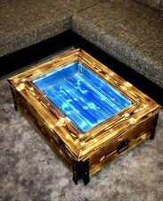 LED Couchtisch LED Tisch Glastisch Beistelltisch Holztisch