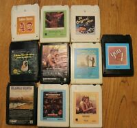 Lot of 10 8-track tapes 8 track Country Variety tapes Car shows Various Artists