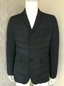 PAUL SMITH QUILTED JACKET DOWN FILLED SINGLE BREASTED SIZE M/L