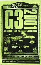 G3 Joe Satriani/Steve Vai/John Petrucci 2001 Denver Concert Poster-Guitar Greats