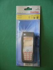 hama Telefontasche Alcatel One Touch 535 Leder schwarz Handytasche Handyhülle