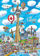 Jigsaw Puzzle International Toronto Canada Caricature 1000 piece NEW Made in USA
