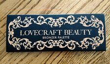 NIB Lovecraft Beauty Bronzer Palette Cymbeline Sunniva Aditya New