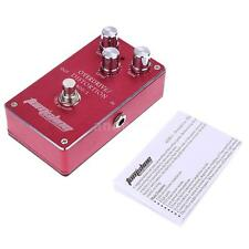 Aroma Overdrive Distortion Electric Guitar Effect Pedal True Bypass E2Q1