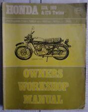 Honda CB175 Haynes Manual 1974 Edition