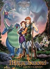 QUEST FOR CAMELOT Movie POSTER 27x40 E