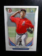 2014 Bowman #BP93 Yency Almonte Anaheim Angels Baseball Rookie Card