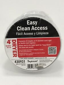 """Imperial Easy Clean Access 4"""" Dryer 430931(5M.111)"""