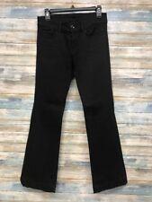 Women's J Brand Jeans 27 x 30 Heart Breaker Flare leg Black Stretch  (A-87)