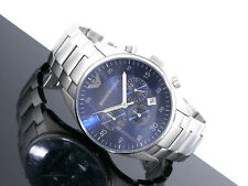 Emporio Armani  Navy blue dial Chronograph original  Watch AR5860 free shipping