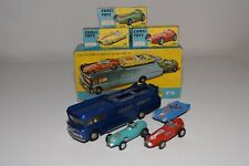 BB 1:43 CORGI TOYS GIFT SET GS 16 ECURIE ECOSSE TRUCK WITH CARS NMINT BOXED RARE