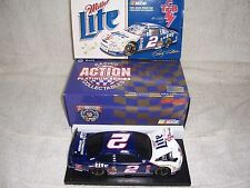 1/24 #2 1998 RUSTY WALLACE MILLER ELVIS TCB TAURUS ACTION LIMITED DIECAST BANK