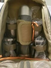 Picnic Time  Coffee Tea Thermos Mug Set & Backpack