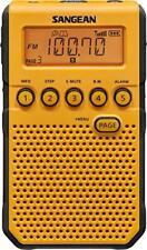 Sangean Dt-800yl Am/fm Weather Alert Pocket Radio [yellow] (dt800yl)