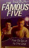 Five Go Down to the Sea Book 12 The Famous Five by Enid Blyton used paperback