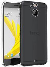 SPRINT HTC BOLT 10 EVO FULL TRANSPARENT SEE THRU FLEXIBLE CASE SLIM TPU COVER