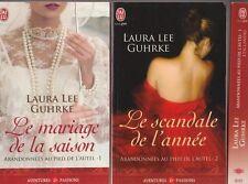 ABANDONNEES AU PIED DE L'AUTEL tomes 1 à 3 Laura Lee Guhrke roman Erotique